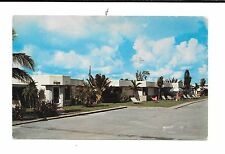 Schaar Villas Motel Delray Beach, Florida 7/09/1957