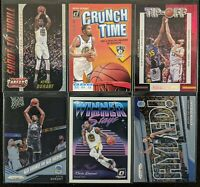 Lot of (6) Kevin Durant, Including Crunch Time, Threads dazzle & other inserts