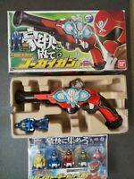 BANDAI Power Rangers Gokaiger Gokai Gun + Ranger Key Set 08 from Japan