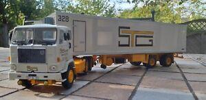 Camion WSI(pas ELIGOR)1/50 VOLVO F88 pub SOCIETE DES TRANSPORTS GAUTIER