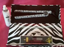 ISO BEAUTY  SPECTRUM PRO HAIR STRAIGHTENER FLAT IRON (ZEBRA ) W/HEAT PROTECTOR