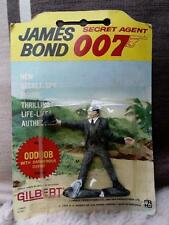 JAMES BOND vintage 1965 Gilbert figures carded rare ODDJOB