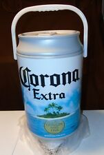 BRAND NEW Corona Extra Plastic Beer Can Cooler 5 Gallon Removable Lid & Handle
