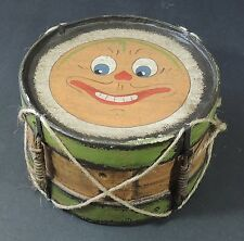 Vintage Wood Tom Tom Toy Drum Excellent Used Condition