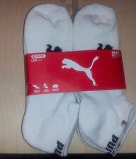 6 Pair Men's PUMA Low cut Socks - Size 10-13  (CNP)