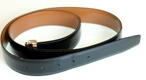 Salvatore Ferragamo Men's Leather Belt Reversible Black & brown size 36