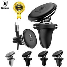 360℃ Baseus Magnetic Mobile Phone Holder Air Vent Mount Car GPS Bracket UK Lot