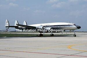US Air Force National Guard Bureau C-121C Constellaton 54-0181 (1975) Photograph