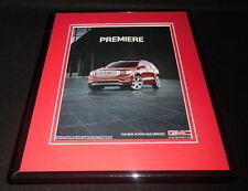 2016 GMC Acadia 11x14 Framed ORIGINAL Advertisement B
