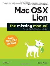 Mac OS X Lion: The Missing Manual (Missing Manuals),David Pogue