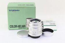 *Excellent++* Voigtlander COLOR HELIAR 75mm F/2.5 MC Leica L Mount
