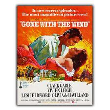 Lo que el viento Película De Placa De Pared Letrero de metal película cine anuncio cartel impresión