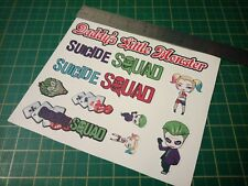 Suicide squad Sticker Set