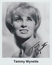 "Tammy Wynette (Deceased) ""Stand by Your Man"" EXTREMELY RARE YOUNG SIGNED RP 8x10"