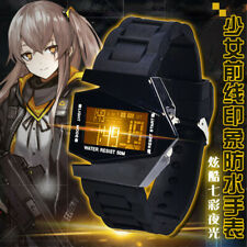Girls Frontline LED Waterproof Touch Screen Watch Anime Cosplay Wristwatch Gift