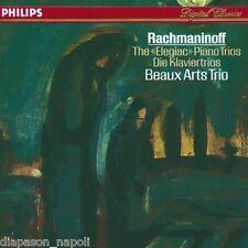 Rachmaninov: I Trii Per Pianoforte (The Piano Trios) / Beaux Arts Trio - CD
