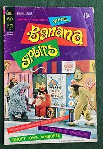 The Banana Splits #8 Gold Key Comics Bronze Age Hanna Barbara g/vg-