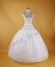 Wedding 6 Hoop Bridal Dress Crinoline Big Ball Gown Petticoat Underskirt Costume