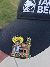 Rare Vintage Taco Bell Hat lapel Pin Live Mas fire Perfect Hot Mild Diablo