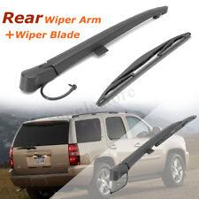 Rear Window Wiper Arm Blade Kit For 07-13 Chevrolet Tahoe Suburban 2500 1500 USA