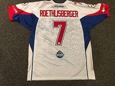 c8616cd1823 BEN ROETHLISBERGER PITTSBURGH STEELERS SIGNED PRO BOWL 50 FOOTBALL JERSEY  JSA
