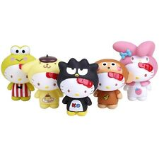 HELLO KITTY - ENSEMBLE 5 FIGURINES / ANIMAL COSTUME COLLECTION / 5 6cm
