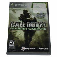 Call of Duty 4: Modern Warfare Microsoft Xbox 360 Complete w/Manual CIB