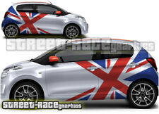 Citroen C1 rally 008 motorsport racing graphics stickers decals vinyl Union Jack