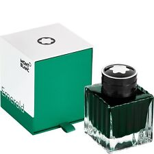 Montblanc tinta/tintero, Ink bottle, Emerald Green, 50ml, 118124 neu&ovp