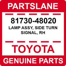 81730-48020 Toyota OEM Genuine LAMP ASSY, SIDE TURN SIGNAL, RH