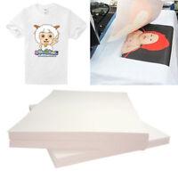 20 Stk A4 T Shirt Transferfolie Textilfolie Papier für helle und dunkle Stoffe