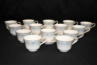 Lot of  20 Pc. Vintage Noritake MONTELEONE Ivory China Cups and Saucers #7569