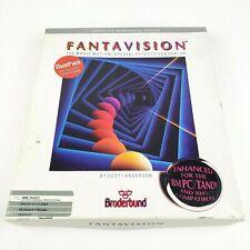 BRODERBUND FANTAVISION THE MAGIC MOTION/SPECIAL EFFECTS GENERATOR IBM/TANDY