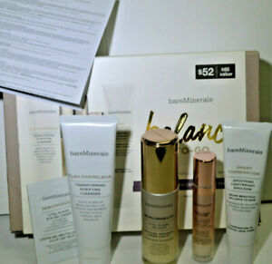 BareMinerals Balance to Go Normal to Combination Skin Travel Size Set x 4