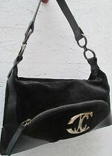 -AUTHENTIQUE  sac à main  JUST CAVALLI  cuir & daim TBEG vintage bag