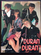 Vintage Duran Duran photo book by Maria David 1984 - Spain HTF Collectors