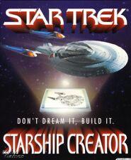STAR TREK STARSHIP CREATOR +ADD-ON +1Clk Windows 10 8 7 Vista XP Install