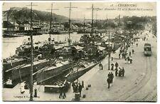CPA - Carte Postale - France - Cherbourg - Le Quai Alexandre III