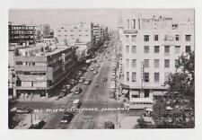 RPPC,Guadalajara,Jalisco,Mexico,Av.16th Septiembre,Vintage Cars,c.1960