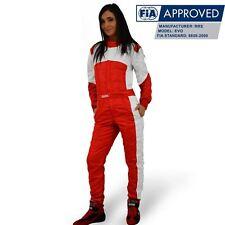 Combinaison pilote RRS FIA EVO Monza Rouge TL