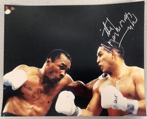 Hector Macho Camacho Signed Photo 11x14 Steiner Autograph Sugar Ray Leonard HOF