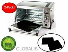Toaster Oven Liner Two-Pack 100% Non-Stick 11�.inally, Prevent Spillovers