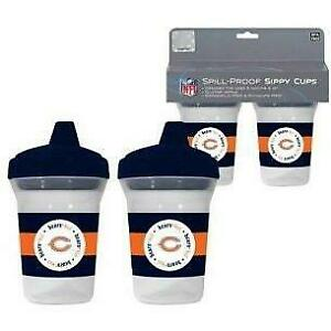 Baby Fanatic Chicago Bears 2 Pack Sippy Cup