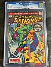 AMAZING SPIDER-MAN #120 CGC NM+ 9.6; White pg!; Hulk vs. Spider-Man!