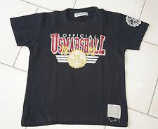 T.shirt garçon 12 ans US MARSHALL noir