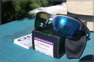 [OO9413-0665] OAKLEY Men's Sliver Edge Polarized Sunglasses - List Price: $186