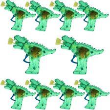 """10x Seifenblasenpistole """"Dino-Gun"""" mit Lichteffekt inkl. Seifenblasenflüssigkeit"""