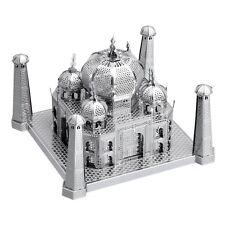 Fascinations Metal Earth ICONX Taj Mahal 3D Jigsaw Puzzle Laser Cut Model Kit