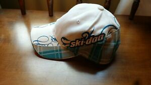 SKI -DOO Womens Adjustable cotton Twill Hat embroidered logo snowmobile like new