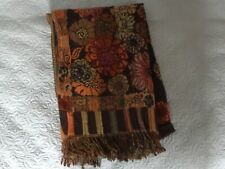 Beautiful Tolani Women's Pure Wool  Boho  Scarf with sequins and embroidery